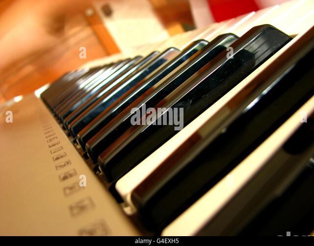 Piano Keys - Stock Image