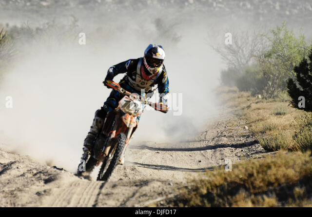 Jun 05, 2010 - Ensenada, Baja Norte, Mexico - IVAN RAMIREZ rides to third in Class 22 and third overall.  The 42nd - Stock Image