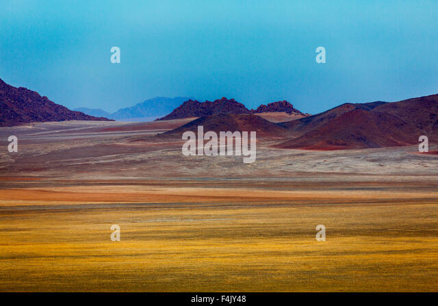 Desert landscape by the Wolwedans Dunes Lodge, Namibia, Africa - Stock Image
