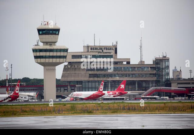 Tegel Airport In Berlin Stock Photos & Tegel Airport In ...