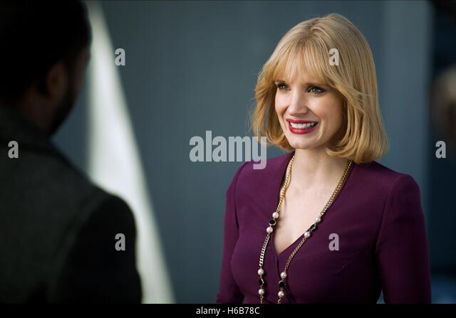 JESSICA CHASTAIN A MOST VIOLENT YEAR (2014) - Stock Image