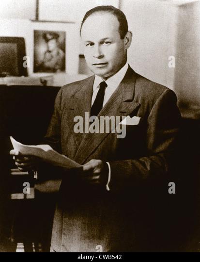 Dr. Charles Drew, ca. 1940s - Stock Image