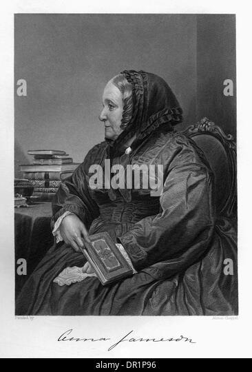 ANNA JAMESON - Stock Image