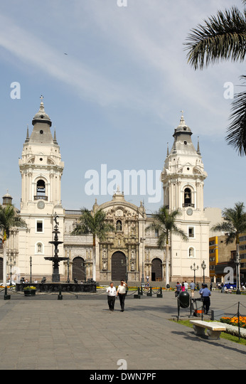 The Archbishopric Cathedral of Bogotá, Bogotá, Colombia - Stock Image