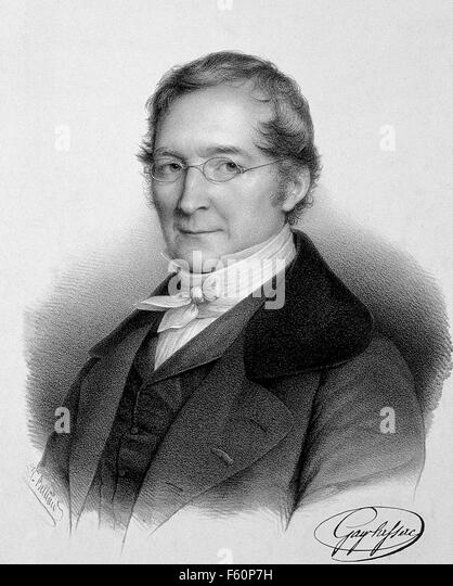 JOSEPH GAY-LUSSAC (1778-1850) French physicist and chemist about 1830 - Stock-Bilder