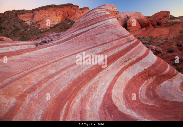 Valley of Fire State Park, Mojave Desert, Nevada - Stock Image