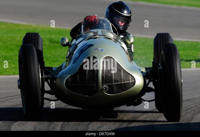 2008 Goodwood Revival Meeting Goodwood UK Goodwood Trophy Race D.Ricketts/1938 ERA E-Type GP1 - Stock Image