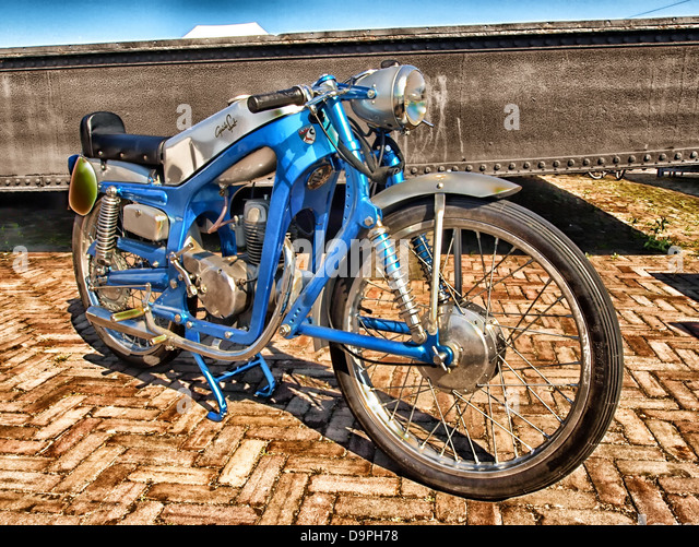 capriola sport motorcycle cycle transportation hdr - Stock Image