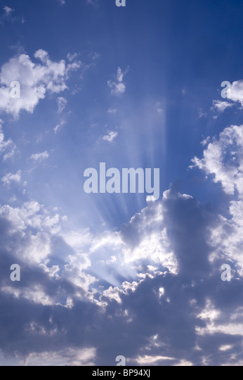 Sun and Clouds - Stock-Bilder
