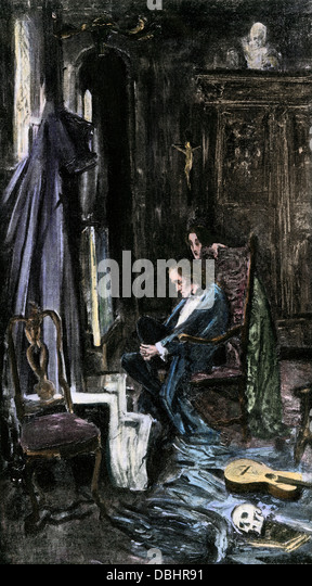 """the fall of the house of usher by edgar allan poe essay Edgar allan poe's short story """"the fall of the house of usher,"""" first published in  1839, is a story that clearly demonstrates poe's great influence."""
