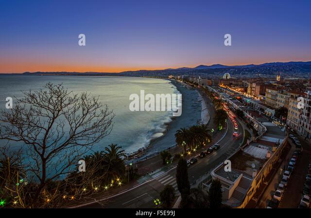 City of Nice - Stock Image