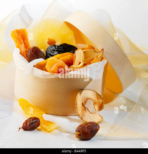 dehydrated fruits - Stock Image