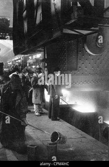 Steel industry in Czechoslovakia, 1941 - Stock-Bilder