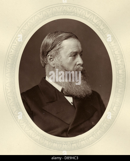 Hugh C E Childers - Stock Image