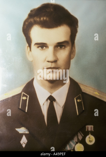 man who saved the earth stanislav petrov former soviet military prevented potential nuclear launch early photograph - Stock Image