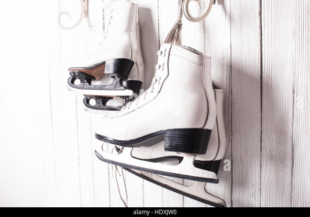 Skates close up - Stock Image