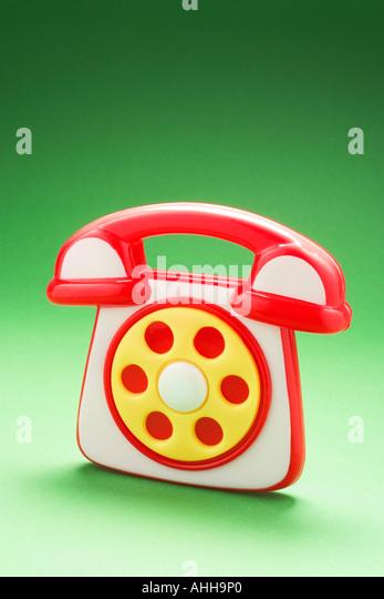 Toy Phone - Stock Image