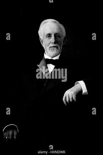 Portrait of San Francisco, California businessman Charles Nelson, 1907. - Stock Image