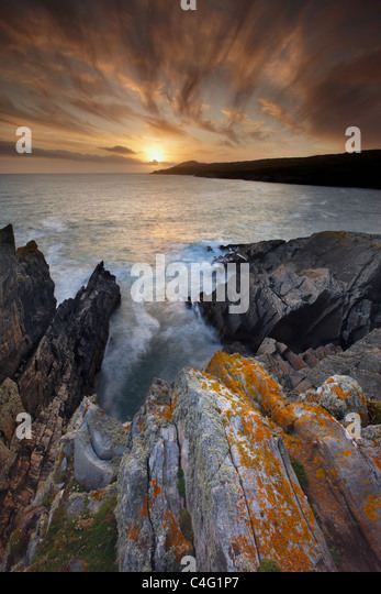 Sheeps Head from Doneen Head, Co Cork, Ireland - Stock Image