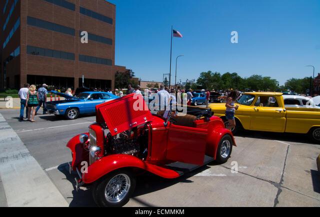 Downtown Sioux City Car Show