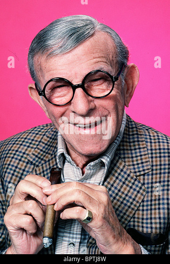 GEORGE BURNS ACTOR (1984) - Stock Image