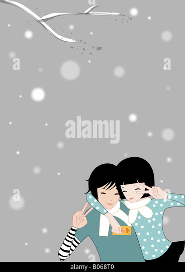 Home Sweet Home Togetherness of Family - Stock Image