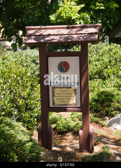 Japanese Garden San Diego California Stock Photos Japanese Garden San Diego California Stock