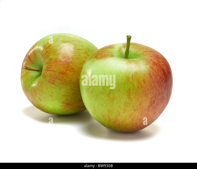 apples for cut out - Stock Image