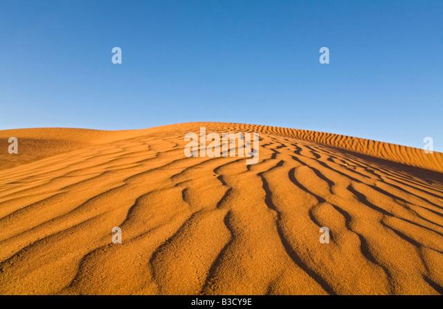 Africa, Namibia, Namib desert, Sand dunes - Stock Image