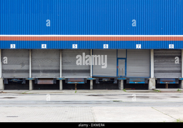 Blue Door Industrial Stock Photos Amp Blue Door Industrial
