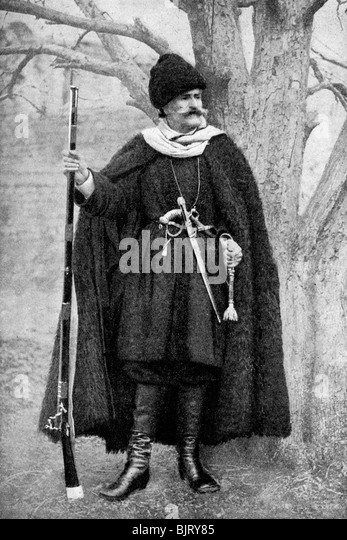 A member of the Georgian aristocracy, 1922. - Stock Image