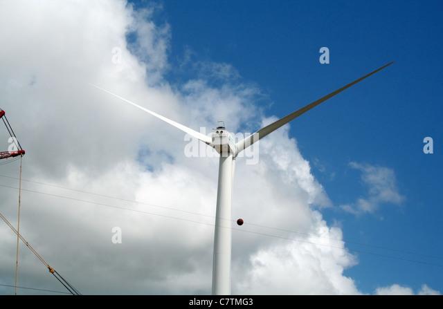 Eolic Energy, Paraiba, Brazil - Stock Image