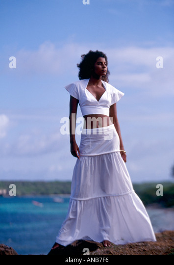 Martinique Paul Herve ELIZABETH fashion show - Stock-Bilder