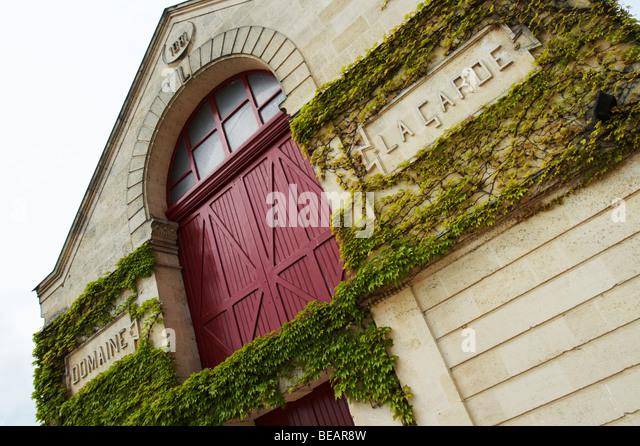chateau la garde pessac leognan graves bordeaux france - Stock Image