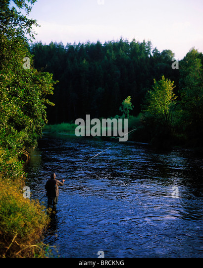 Ireland county kilkenny inistioge nore stock photos for River fishing games
