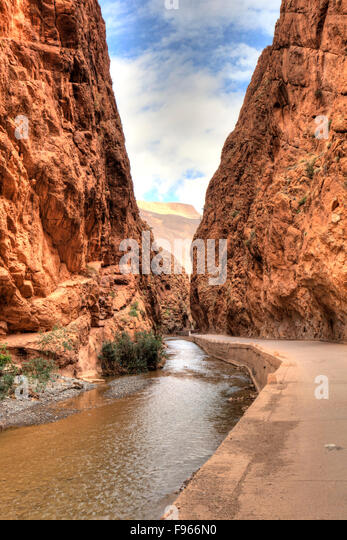 Dades Gorge, Morocco - Stock Image