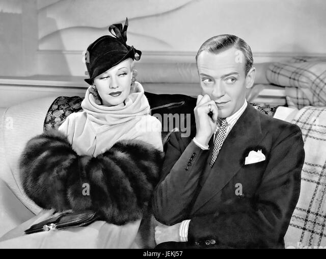 ROBERTA 1935 RKO Radio Pictures film with Ginger Rogers and Fred Astaire - Stock-Bilder