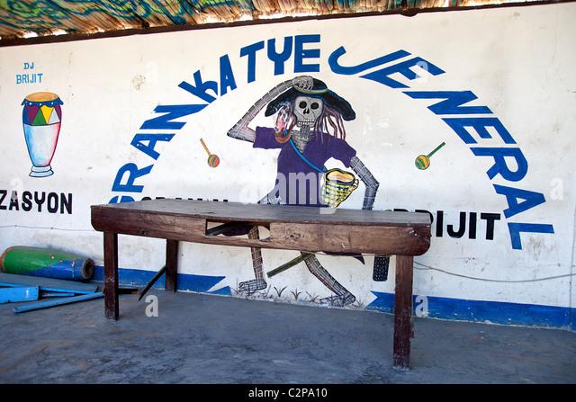 Graffiti On The Wall Of Grand Cemetery Port Au Prince Haiti C Pa on Mambo Dance Diagram