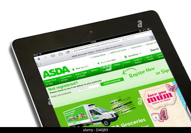 Asda home shopping online