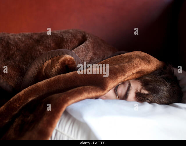 sleeping boy - Stock-Bilder