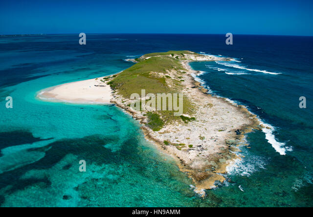 Gibbs Cay, Grand Turk Land and Sea National Park, Turks and Caicos, Caribbean Sea - Stock-Bilder