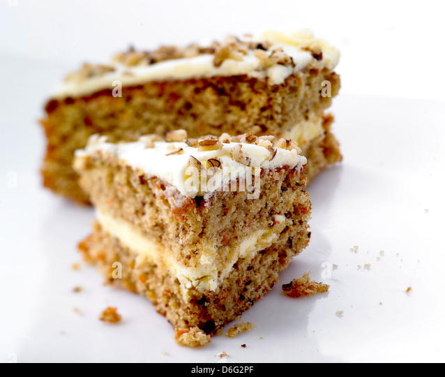 Carrot cake - Stock Image