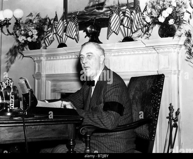 president franklin d. delanos address to the americans on pearl harbor attack essay The attack on vice president nixon's automobile when he visited  he became a factor in franklin d roosevelt's election  by the japanese attack on pearl harbor.