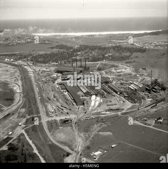 Australian Iron & Steel, Port Kembla - 26 Nov 1937 - Stock Image