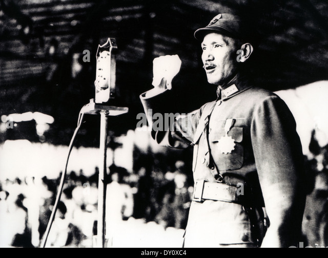 a biography of chiang kai shek a chinese soldier 2014-10-1  role of kuomintang veterans recognized  a nationalist soldier during the war of  both the nationalists under chiang kai-shek, leader of the chinese.