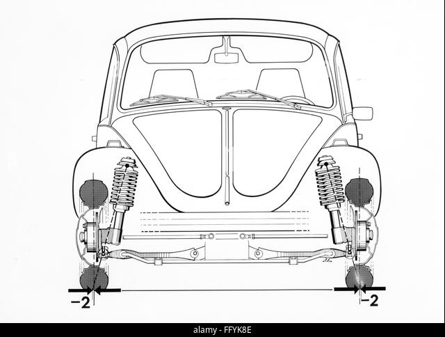 volkswagen super beetle rear suspension