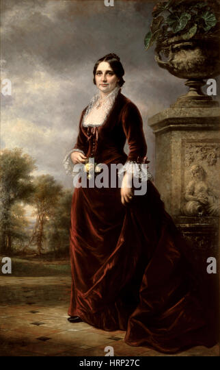 Lucy Hayes, First Lady - Stock Image
