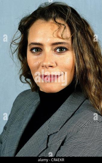 De Rossi, Barbara, * 9.8.1960, Italian actress, portrait, 1993, - Stock Image