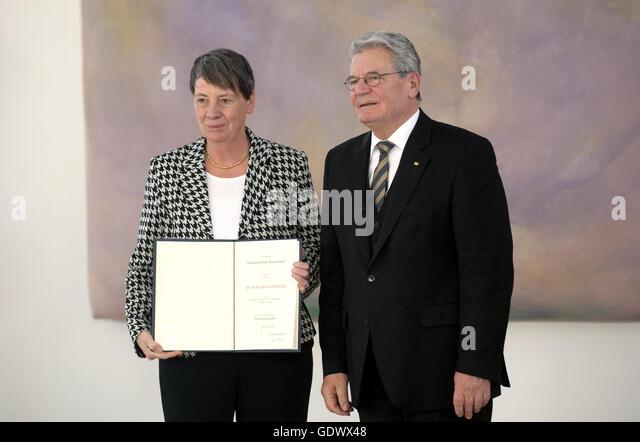 Hendricks and Gauck - Stock Image