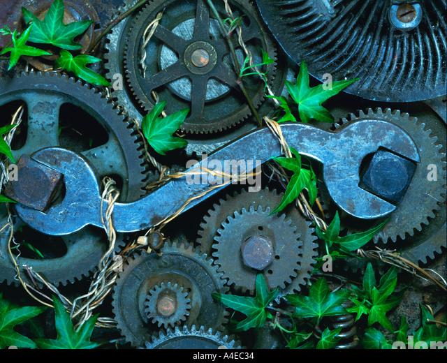 Obsolete Mechanics - Stock Image